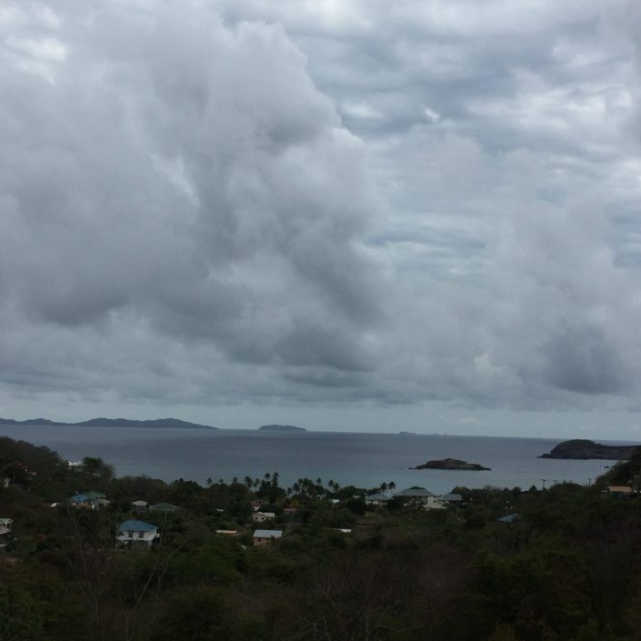 Mustique from a far, taken at Friendship