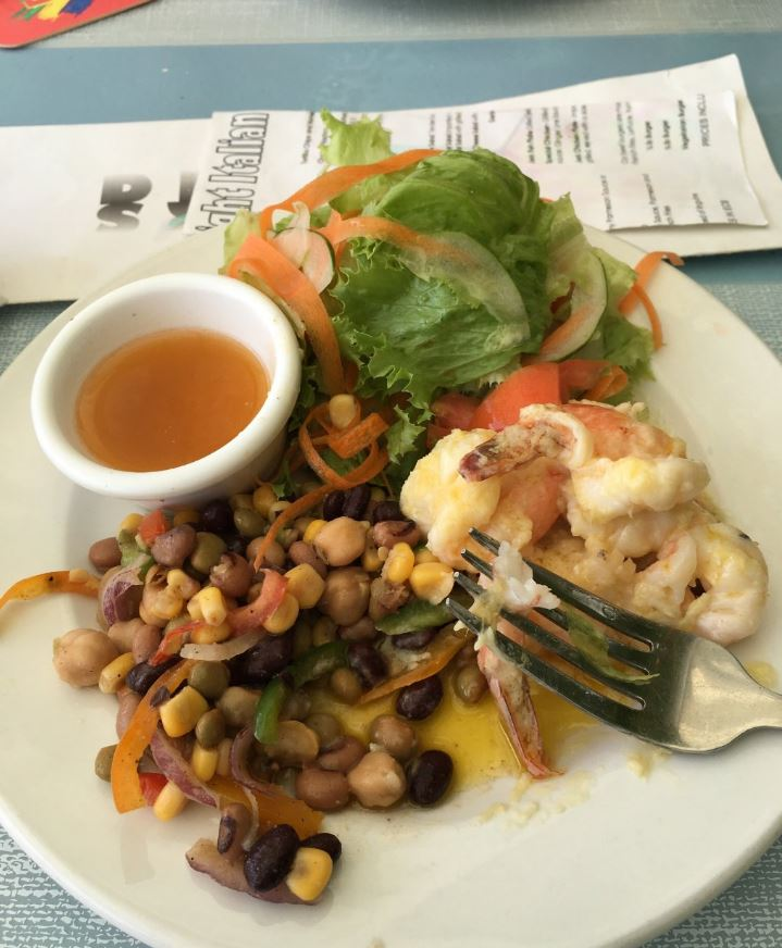 Lunch at Tommy's Cantina, Bequia