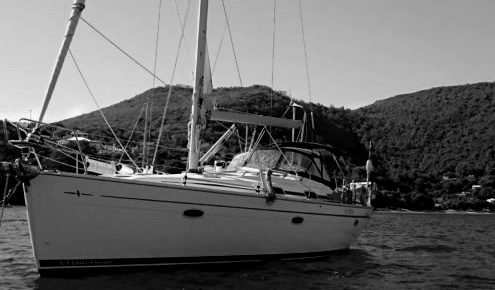 Sailing to Bequia