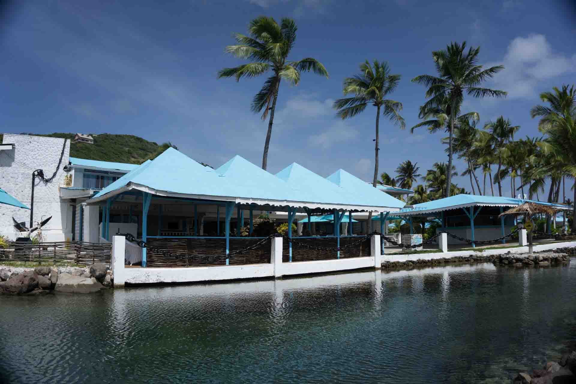 Union Island – Anchorage Yacht Club restaurant