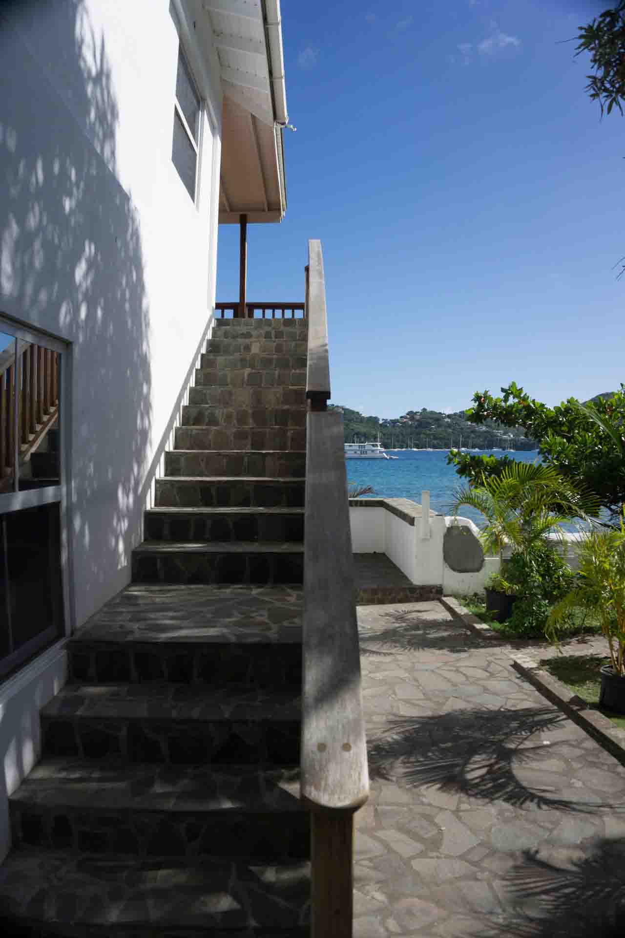 Bequia OpenDeck stairs