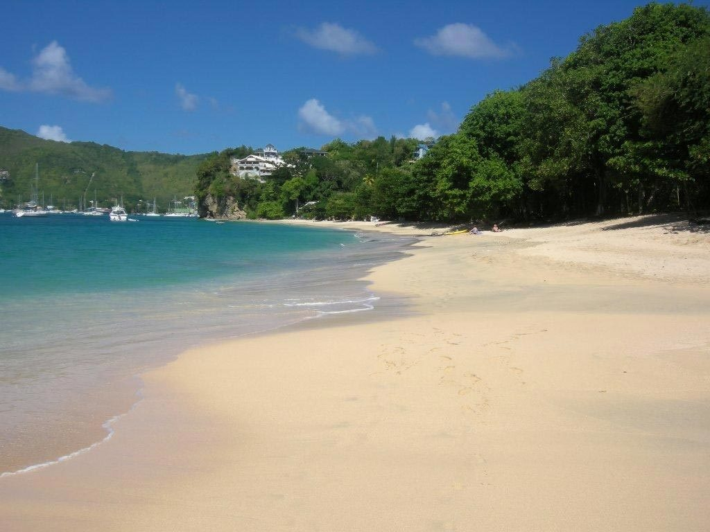 View of Princess Margaret Beach, Bequia