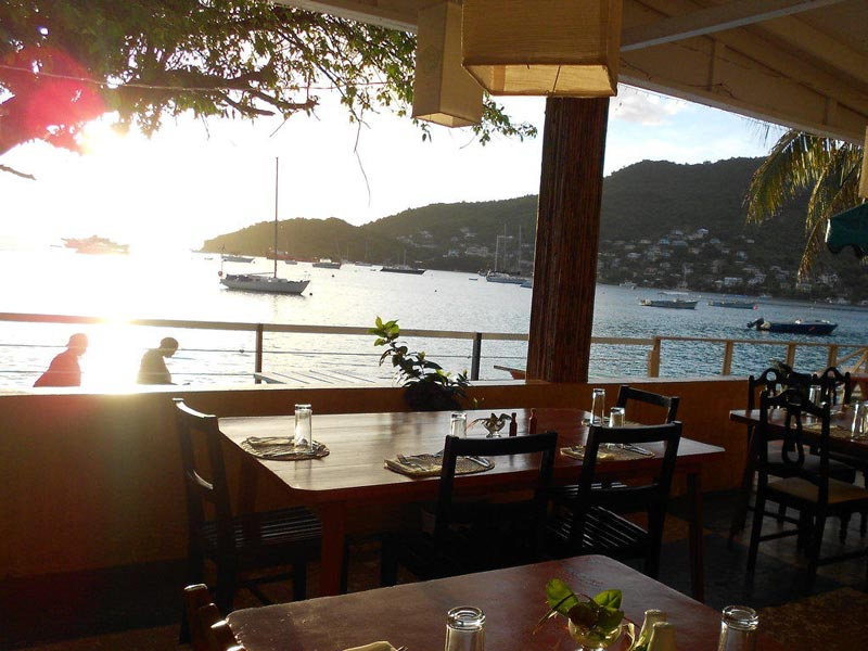 View over Admiralty Bay from The Fig Tree Restaurant, Bequia.jpg
