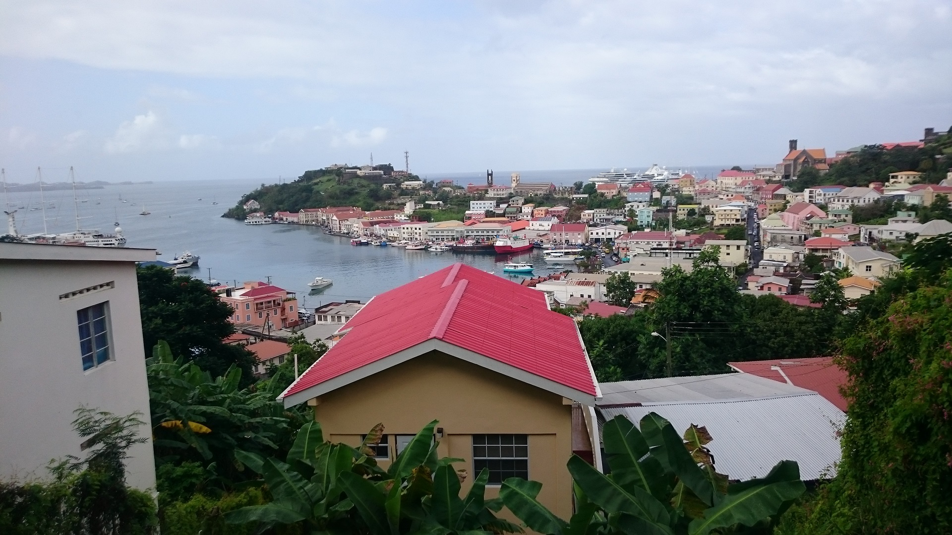 Grenada's capital St Georges